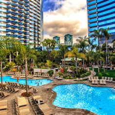 Paradise at the San Diego Marriott Marquis & Marina #hotel #travel