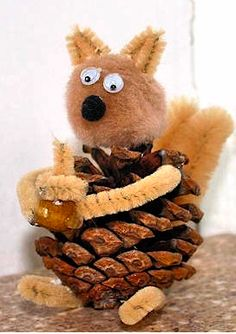 small squirrel for crafts - Google Search