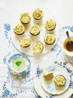 Think of sticky toffee pudding in the form of a cupcake – divine and very spoiling!