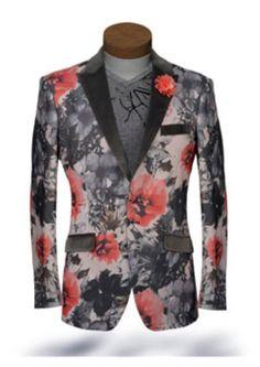 Product#SS-8413 Liquid Jet Black Lapel Tuxedo Dinner Jacket Looking Blazer Online Sale Sport Jacket Coat / Suit With Sheen Hot Pink ~ fuchsia