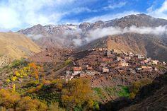 Atlas Mountains and Kasbah Toubkal