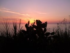 sunset at Pizzo Calabro