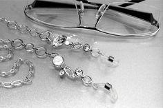 Catenina gioiello per occhiali : Occhiali, occhiali da sole, cordoncini di corina-de-athiss-creazioni