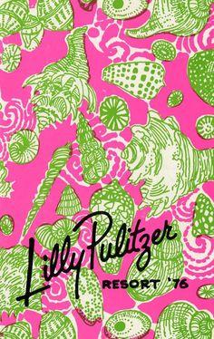 Lilly Pulitzer Resort Catalog 1976.