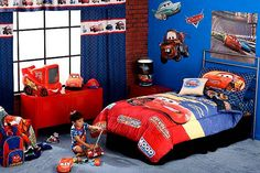 Idea Lightning Mcqueen Sofa Bed Or Lightning Bedroom Sets Decorating Ideas Toddler Set 51 Lightning Mcqueen. Shop for a Disney Cars Lightning McQueen 7 Pc Bedroom at Rooms To Go… Boys Car Bedroom, Boys Bedroom Decor, Bedroom Ideas, Boy Rooms, Bedroom Furniture, Bedroom Décor, Kids Rooms, Furniture Ideas, Disney Cars Room