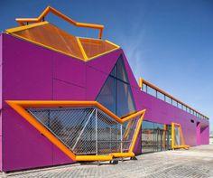 New Youth Centre in Rivas Vacia Madrid