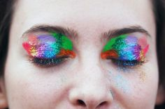 glitter eyes from Port Eliot