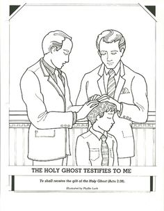 Baptism day primary coloring page lds ldsprimary http for Gift of the holy ghost coloring page