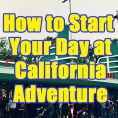 Updated April 23, 2017 With a good strategy, you can see and do all of California Adventure easily in one day. In fact, with my plans, you can typically have half the park's attractions completed by lunch. This post will stay updated to show you the current most popular attractions and how to...