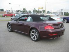 2008 BMW 650i Convertible (Barbera Red Metallic) - So Sick