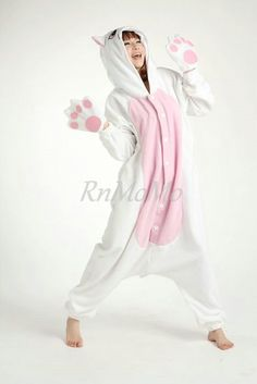 KIGURUMI Animal Pajamas Pyjamas Costume Onesie Adult / by RnMoMo, $49.99