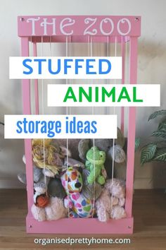 kids zoo for stuffed animals toy storage \ kids zoo for stuffed animals ; kids zoo for stuffed animals toy storage ; kids zoo for stuffed animals diy ; Stuffed Animal Storage, Cute Stuffed Animals, Kids Zoo, Animals For Kids, Kids Toys For Boys, Kids Girls, Kids Storage, Storage Ideas, Girls Room Storage