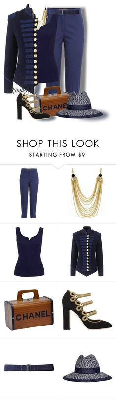 """""""Military Jacket"""" by cavell ❤ liked on Polyvore featuring Michael Kors, Pinky Laing, Chanel, Dolce&Gabbana, MARC CAIN and Armani Collezioni"""