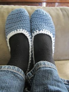 You Pinspire Me: Easy Crochet Slippers!
