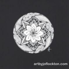 Twisted Zendala, original art, $35.20