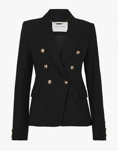 The Dimmer Blazer by CAMILLA AND MARC is a modern blazer designed in a structured silhouette. Casual Chic, Fashion Advice, Fashion Outfits, Nike Air, Tailored Jacket, Black Blazers, Winter Wardrobe, Camilla, Double Breasted