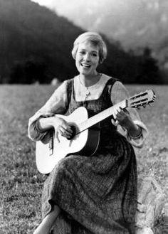 Julie Andrews as Maria - The Sound of Music