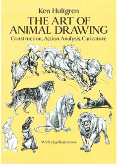Click and read! The Art of Animal Drawing: Construction, Action Analysis, Caricature by Ken Hultgren - Follow this link: http://www.mediafire.com/view/6cmfuob38bc34af/Ken_Hultgren-The_Art_of_Animal_Drawing.pdf ✤    CHARACTER DESIGN REFERENCES   キャラクターデザイン    • Find more at https://www.facebook.com/CharacterDesignReferences & http://www.pinterest.com/characterdesigh and learn how to draw: concept art, bandes dessinées, #fumetti #anime #cartoni #animati    ✤