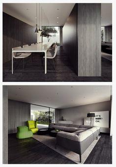 style taboo   interiors   pinterest   architettura - Weis Braunes Innendesign Dachwohnung