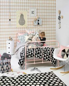 Cute Scandinavian-style | 10 Gorgeous Girls Rooms Part 5 - Tinyme Blog