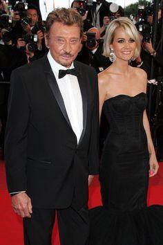 Johnny Hallyday et Laeticia - Cannes