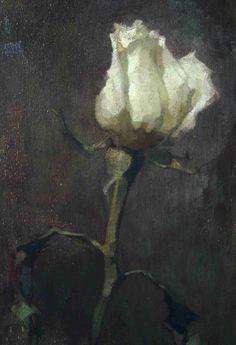 Posts about White Roses written by Hege Elisabeth Haugen Plant Painting, Impressionist Art, White Roses, White Flowers, Contemporary Paintings, Cool Artwork, Painting Inspiration, Art Images, Flower Art
