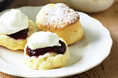 These scones were this week's winner of the scone recipe food fight and are a delicious Sunday afternoon treat.