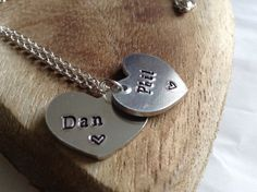 Dan and Phil necklace. A great gift for a Dan and Phil fan. The font used for…