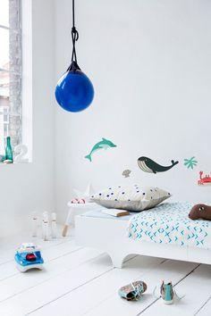 A TEEN BED WHITE with Makii wall sticker  http://www.rafa-kids.com/shop/a-teen-bed-mattress/
