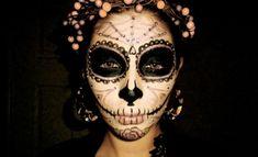 spinnennetz elemente halloween schmink-ideen frauen