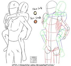 piggyback anime everything drawing pinterest anime
