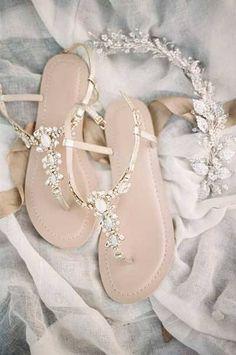 Bella Belle elegant wedding sandals