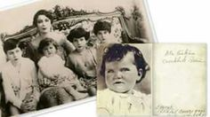 Atatürk'ün çocukluk fotoğrafı diye internette zaman zaman dönen bu fotoğraf, Mısır Kralı Faruk'un Türk asıllı eşi Feride'nin kızıdır.