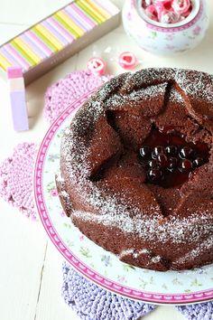 Torta al cioccolato e marmellata