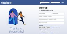 Facebook, what's up with that weird graphic that shows up after you log off? http://tnw.me/d4jEVG0