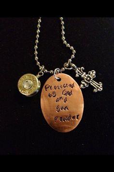 #bullet jewelry #god #gunpowder