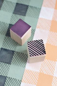 Did you know you could make a diy stamp with erasers, potatoes, sponges and more? Here are ten beautiful projects that show you how!