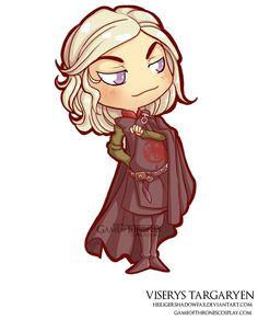 Viserys Targaryen // Game of Thrones cosplay group http://www.gameofthronescosplay.com | by Sara Manca http://heiligershadowfax.deviantart.com/