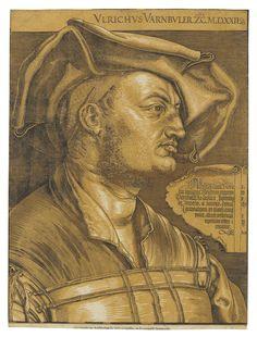 Bildnis Ulrich Varnbülers by AlbrechtDürer Albrecht Durer, Louvre, Vintage Drawing, Grand Palais, Chiaroscuro, Global Art, Art Market, Printmaking, Past