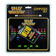 Space Invaders USB Optical Mouse and Mouse Pad - Invaders, Mouse, Optical, Space