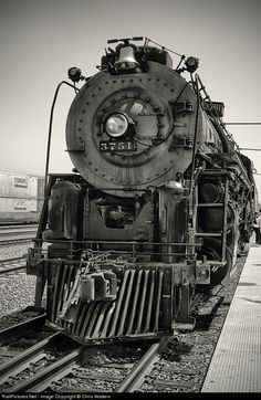 RailPictures.Net Photo: 3751 Atchison, Topeka & Santa Fe (ATSF) Steam 4-8-4 at San Bernardino, California by Chris Walters