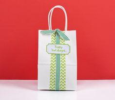 Ribbon and Washi Tape Bag