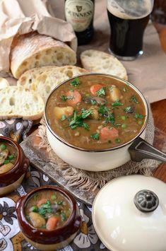 Vegan Guinness Barley Stew