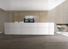 Moderne Küche / Holzfurnier / aus Stahl / Kochinsel - TK38 by ...