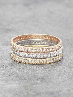 Antique Pave Diamond Fishtail Ring