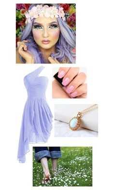 """""""Nymph"""" by hubermakayla ❤ liked on Polyvore featuring мода и Chanel"""