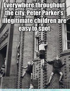 Spiderman's Children!