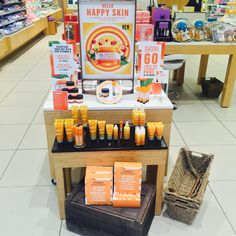 What a welcoming table of Vitamin C goodness! #newarrival #vm #thebodyshopaust