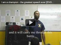 Motivational Pre-Game Speech   AllAroundFit