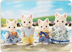 Calico Critters - Silk Cat Family and thousands more of the very best toys at Fat Brain Toys. Mother Holly runs the Cloverleaf Corners Dance Studio with her husband. Calico Critters Families, Teach Dance, Sylvanian Families, Johnny Was, Go Camping, Little Boys, Kids Toys, Teddy Bear, Fun
